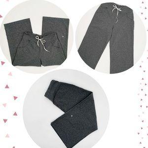 Lululemon Grey Wide Leg Women's Capris - Sz 6